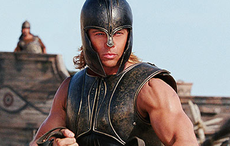 Who remembers what Achilles' downfall was? HInt: it wasn't his heel.
